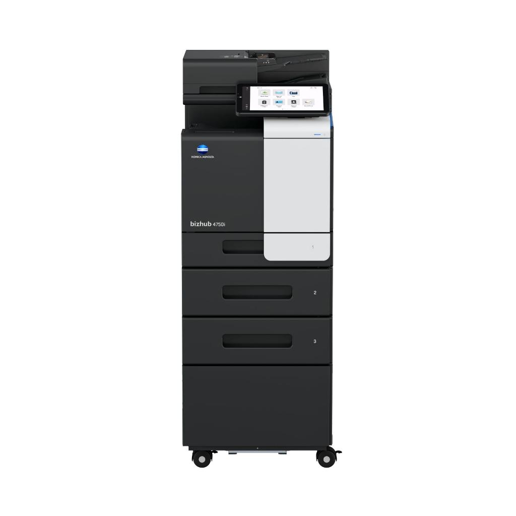 Konica Minolta bizhub 4750i 2 paper cabinet